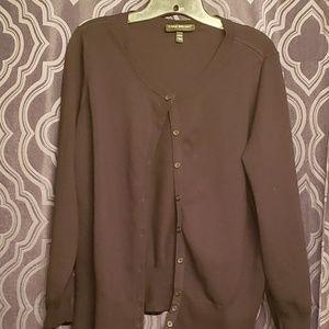 Black Lane Bryant Cardigan Sweater